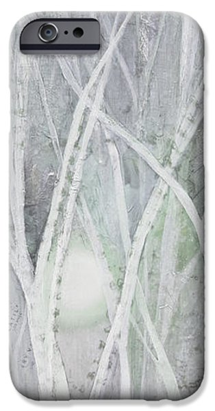 Twilight In Gray II IPhone Case by Shadia Zayed