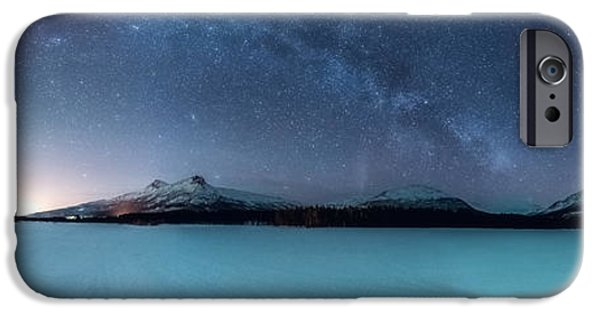 Twin Eruption IPhone Case by Tor-Ivar Naess