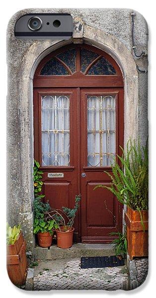 Typical Door IPhone Case by Carlos Caetano