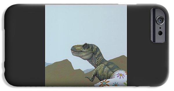 Tyranosaurus Rex IPhone 6s Case by Jasper Oostland