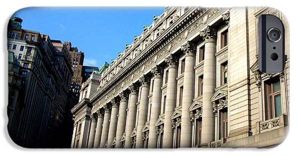 U S Custom House 1 IPhone 6s Case by Randall Weidner