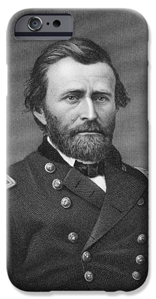 Ulysses Simpson Grant IPhone Case by Matthew Brady