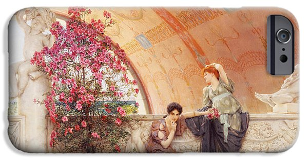 Unconscious Rivals IPhone Case by Sir Lawrence Alma Tadema