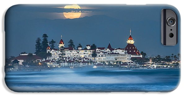 Under The Blue Moon IPhone Case by Dan McGeorge