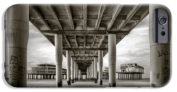 Under The Boardwalk IPhone Case by Dave Bowman