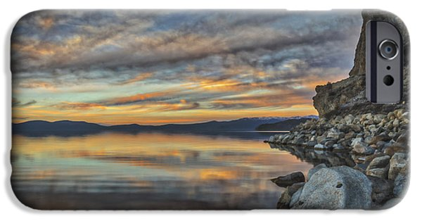 Under The Calico Sky IPhone Case by Mitch Shindelbower