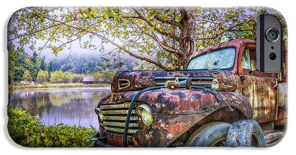 Under The Trees IPhone Case by Debra and Dave Vanderlaan