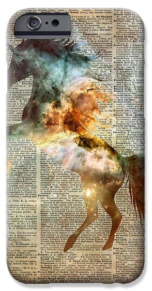 Unicorn Carina Nebula IPhone Case by Jacob Kuch