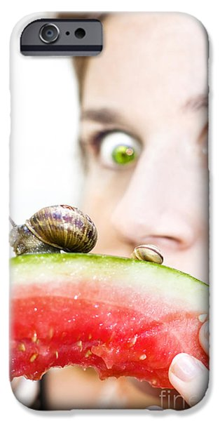 Uninvited Dinner Guests IPhone Case by Jorgo Photography - Wall Art Gallery