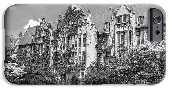 University Of Chicago Eckhart Hall IPhone 6s Case by University Icons