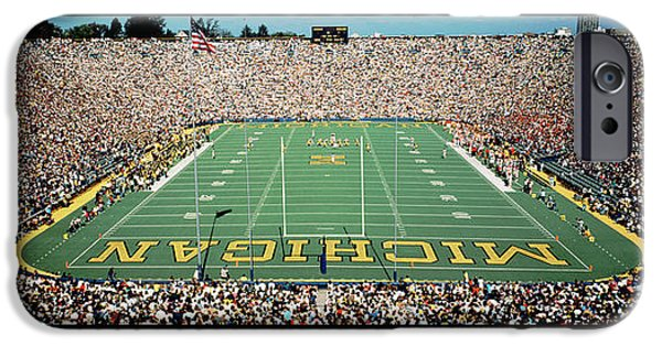 University Of Michigan Stadium, Ann IPhone 6s Case by Panoramic Images