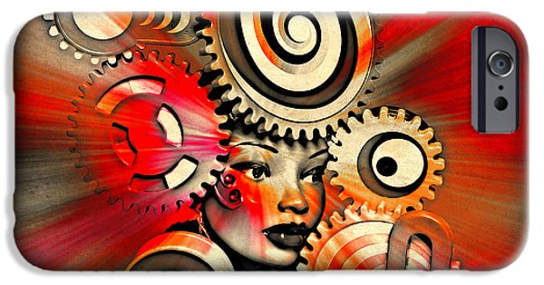 Urban Medusa IPhone Case by Jeff  Gettis