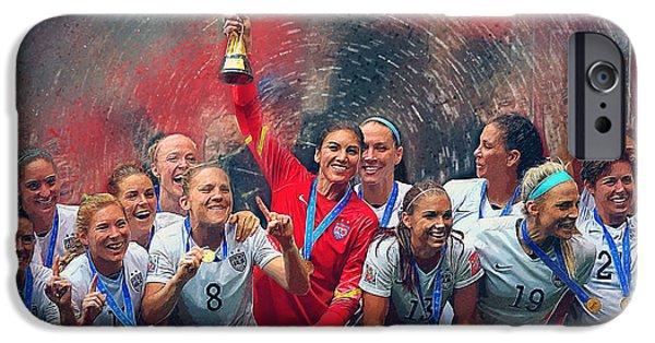 Us Women's Soccer IPhone 6s Case by Semih Yurdabak