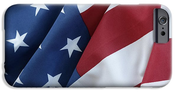 Usa Flag 5 IPhone Case by Les Cunliffe