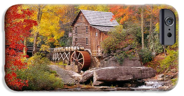 Usa, West Virginia, Glade Creek Grist IPhone Case by Panoramic Images