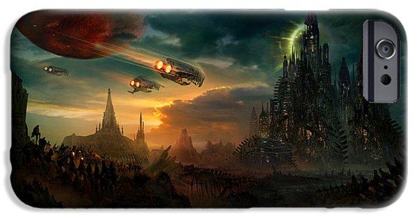 Utherworlds Sosheskaz Falls IPhone 6s Case by Philip Straub