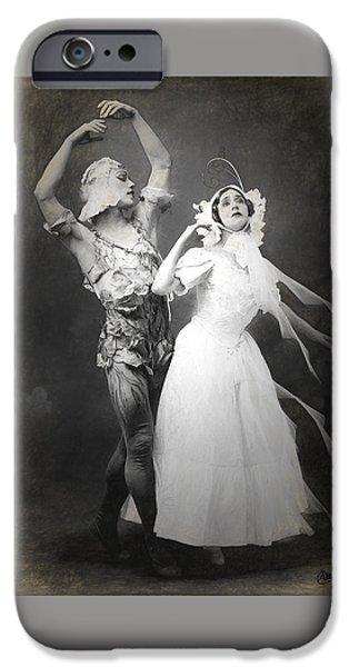 Vaslav Nijinsky Ballet IPhone Case by Joaquin Abella