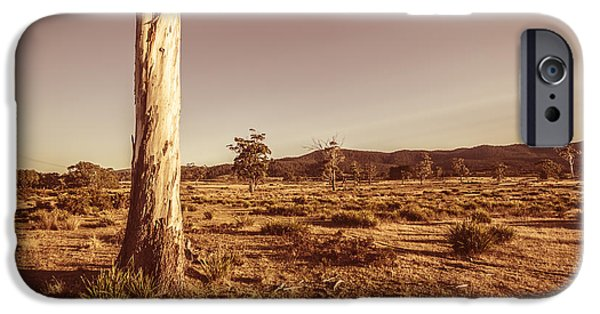 Vast Pastoral Australian Countryside  IPhone Case by Jorgo Photography - Wall Art Gallery