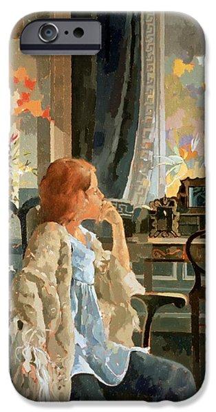 Veil Of Elegance IPhone Case by Peter Miller