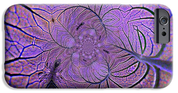Veins IPhone Case by Anne Ditmars