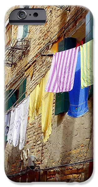 Venetian Clothes IPhone 6s Case by Valentino Visentini