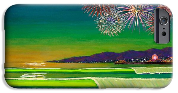 Venice Beach Celebration  IPhone Case by Frank Strasser