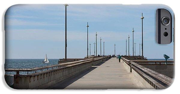 Venice Beach Pier IPhone 6s Case by Ana V Ramirez