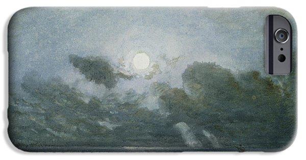 Venice By Moonlight IPhone Case by Felix Ziem