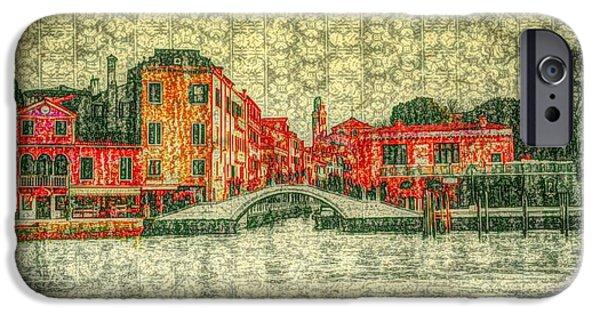 Venice In Bloom  IPhone Case by Patrizia Fazzari