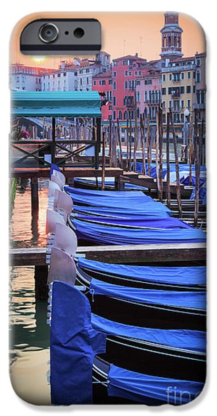 Venice Sunrise IPhone Case by Inge Johnsson