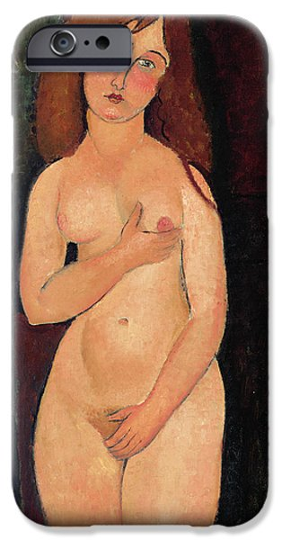 Venus Or Standing Nude Or Nude Medici IPhone 6s Case by Amedeo Modigliani