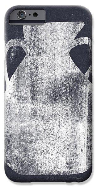 Vessel 5- Art By Linda Woods IPhone Case by Linda Woods