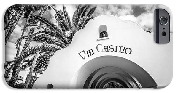 Via Casino Archway Catalina Island Photo IPhone Case by Paul Velgos