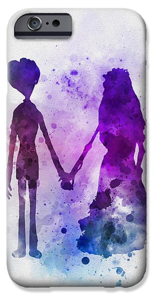 Victor And Emily IPhone 6s Case by Rebecca Jenkins