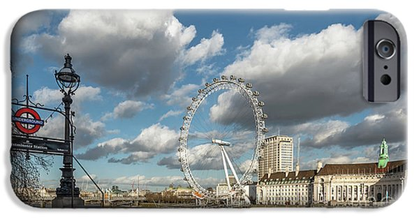 Victoria Embankment IPhone 6s Case by Adrian Evans