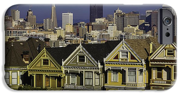 Victorian House In San Francisco IPhone Case by Garry Gay