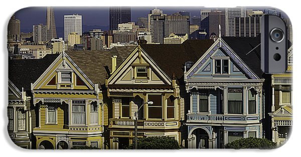 Victorian Painted Ladies IPhone Case by Garry Gay