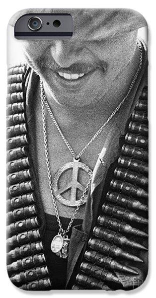 Vietnam War: Soldier, 1970 IPhone Case by Granger