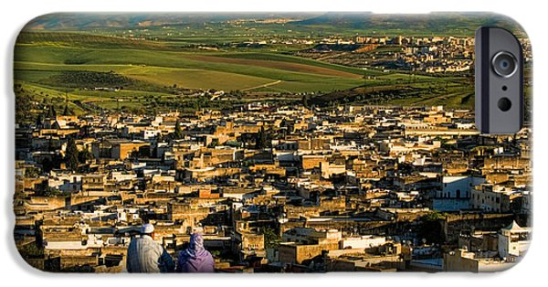 View Ancient Fes Morroco IPhone Case by David Smith