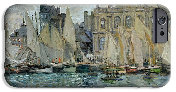 View Of Le Havre IPhone Case by Claude Monet