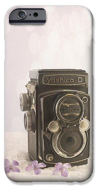Vintage Camera IPhone Case by Juli Scalzi
