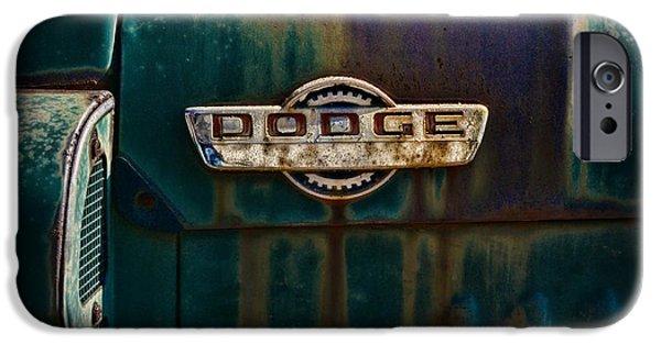 Vintage Dodge Emblem  IPhone Case by Paul Ward