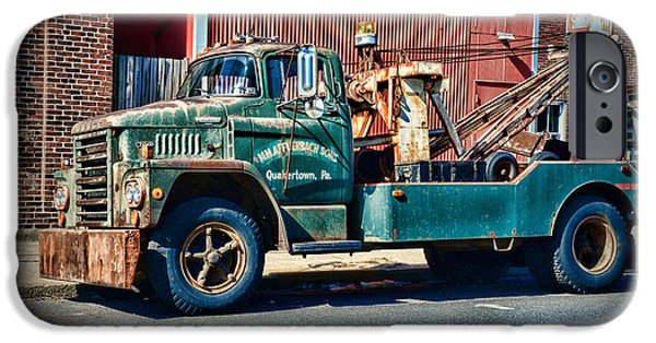 Vintage Dodge Tow Truck 2 IPhone Case by Paul Ward