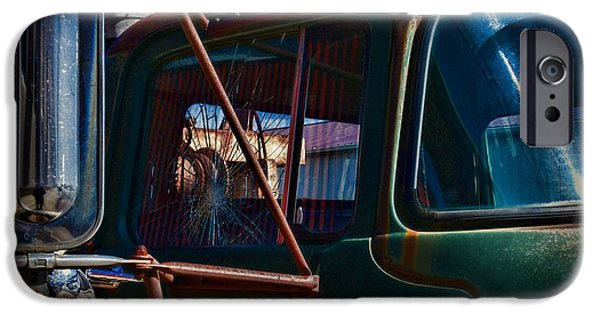Vintage Dodge Truck Shattered Window IPhone Case by Paul Ward