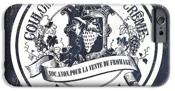 Vintage French Cheese Label 2 IPhone Case by Debbie DeWitt