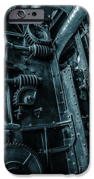 Vintage Industrial Pipes IPhone Case by Carlos Caetano
