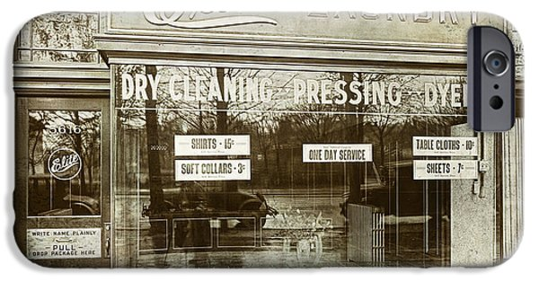 Vintage Laundromat IPhone Case by Mindy Sommers