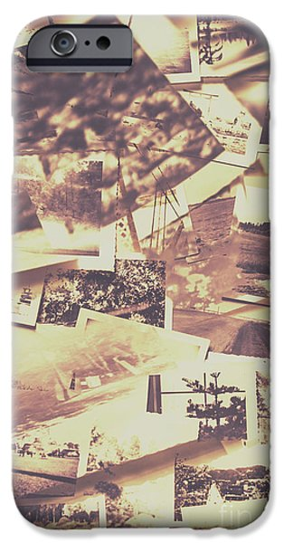 Vintage Photo Design Abstract Background IPhone Case by Jorgo Photography - Wall Art Gallery