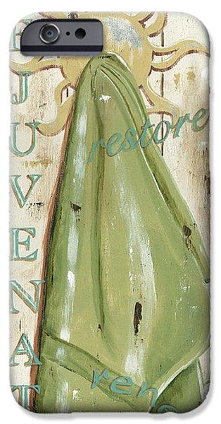 Vintage Sun Beach 1 IPhone Case by Debbie DeWitt