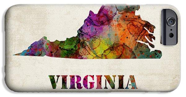 Virginia IPhone Case by Mihaela Pater